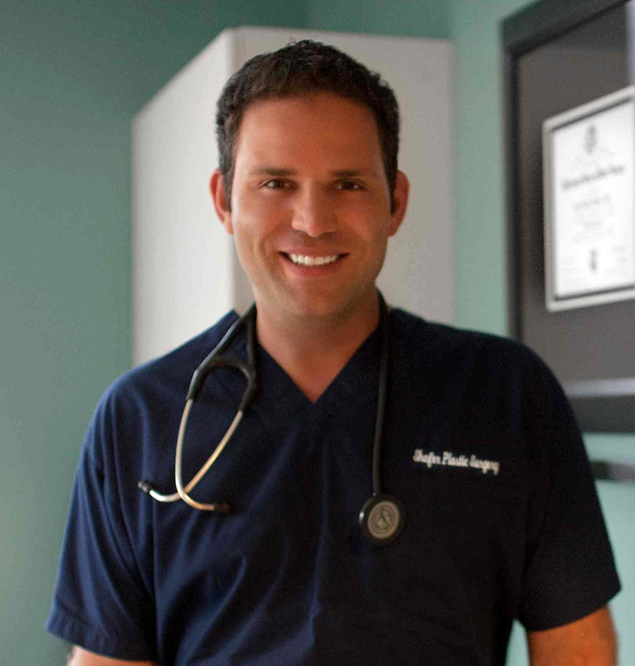 Dr. Shafer, Beauty board certified plastic surgeon