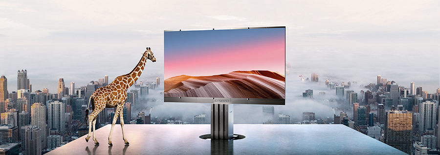 C-Seed launched World's largest outdoor TV