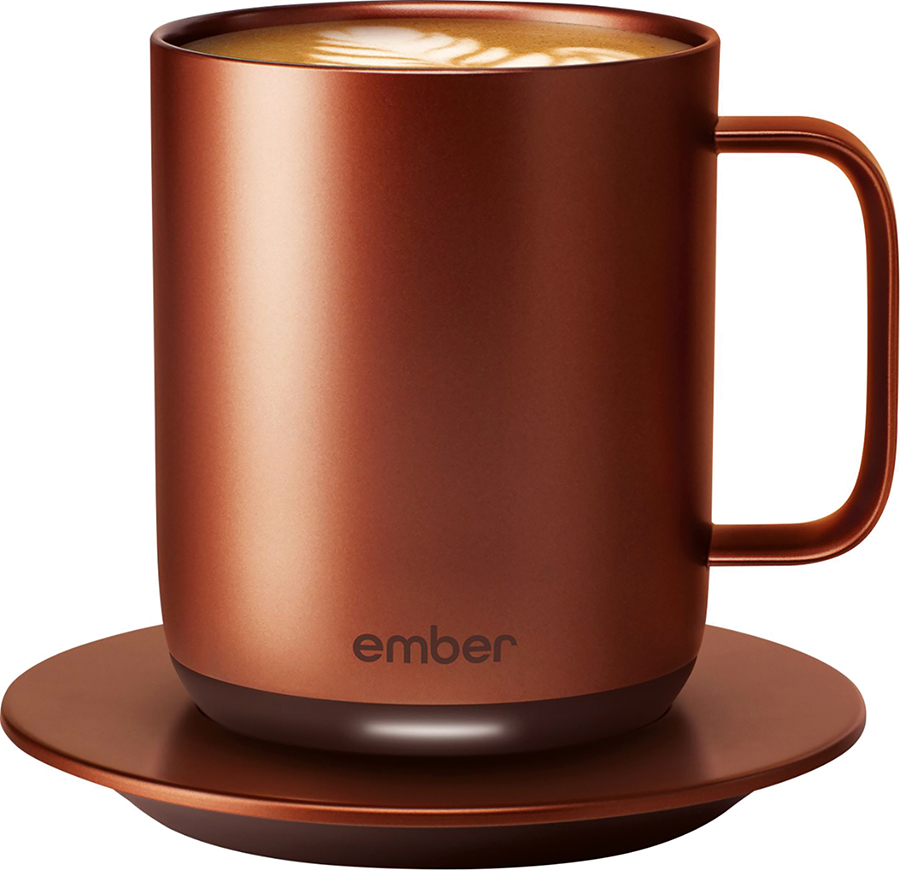 Kitchen Copper Mug with Remote Temperature Control by Ember