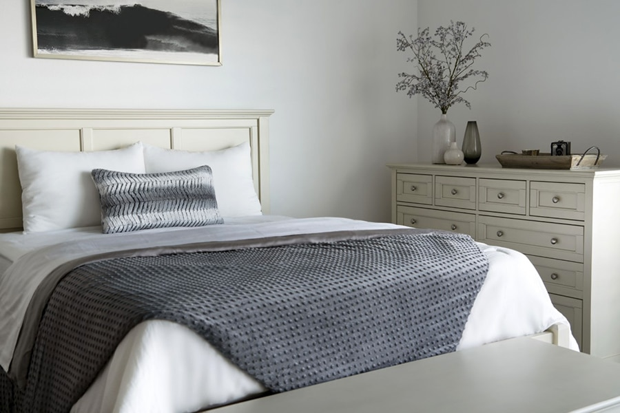 Brooklyn Bedding Weighted Blanket, perfect as a holiday gift