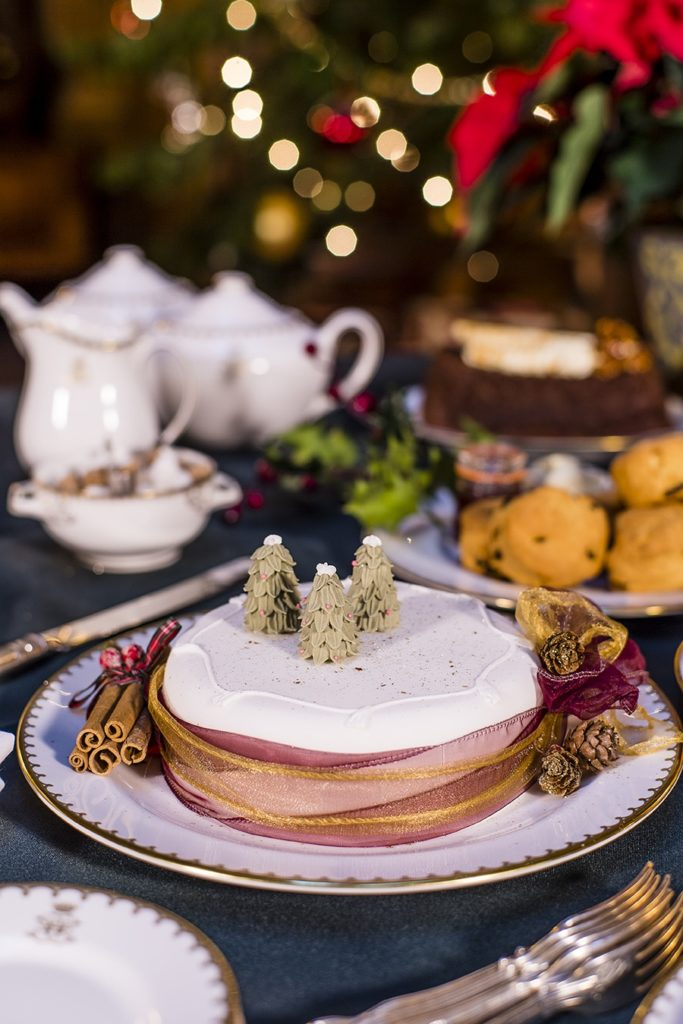 delight servings at Highclere castle