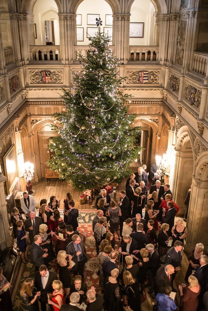 Christmas Party at Highclere castle