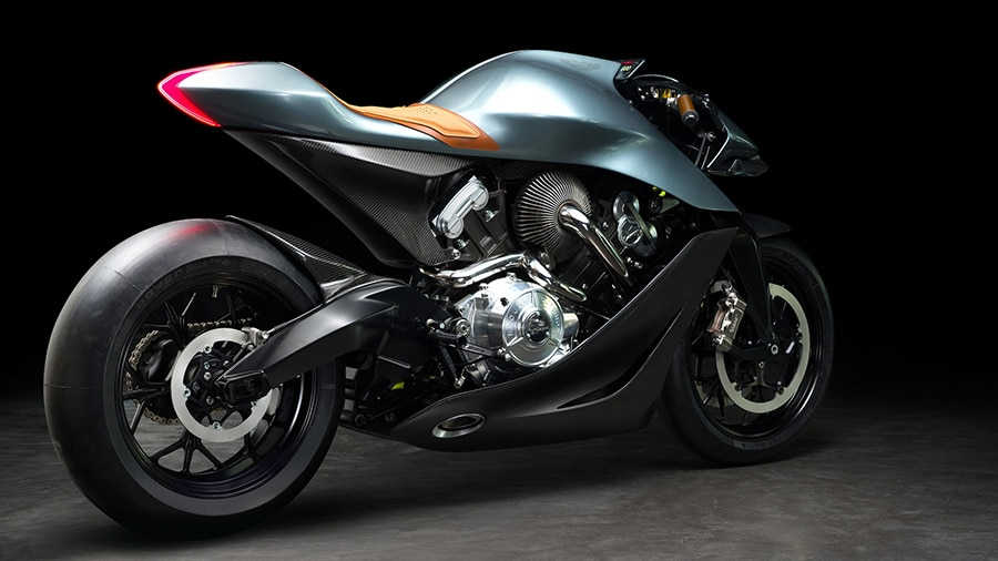 Here is the Aston Martin AMB 001 superbike