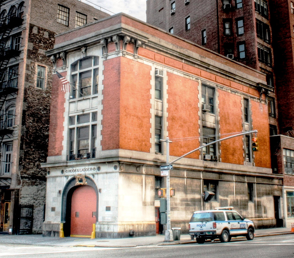 Ghostbusters Firehouse where the film took place