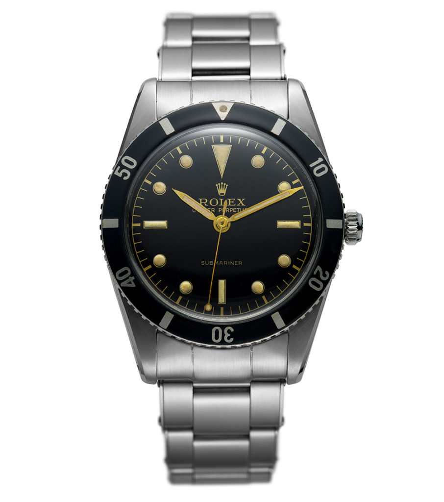 Rolex First Submariner, 1953, an iconic watch