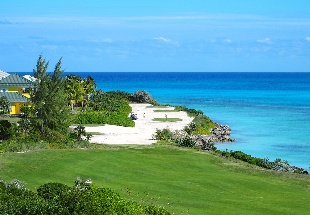 Golf Course in the Bahamas