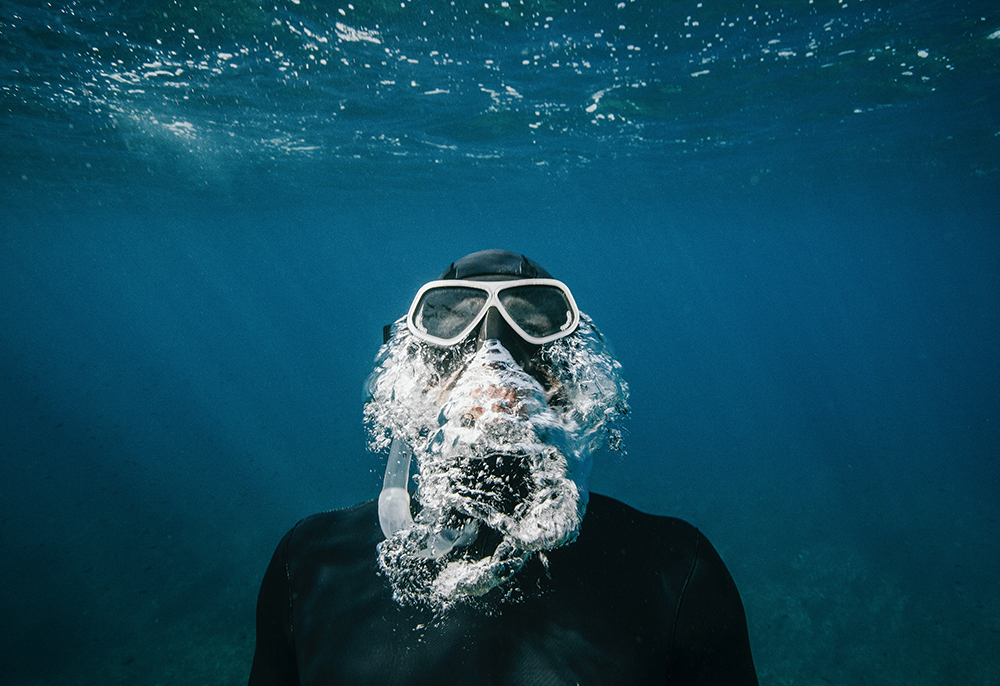 popular water sport is diving and snorkling