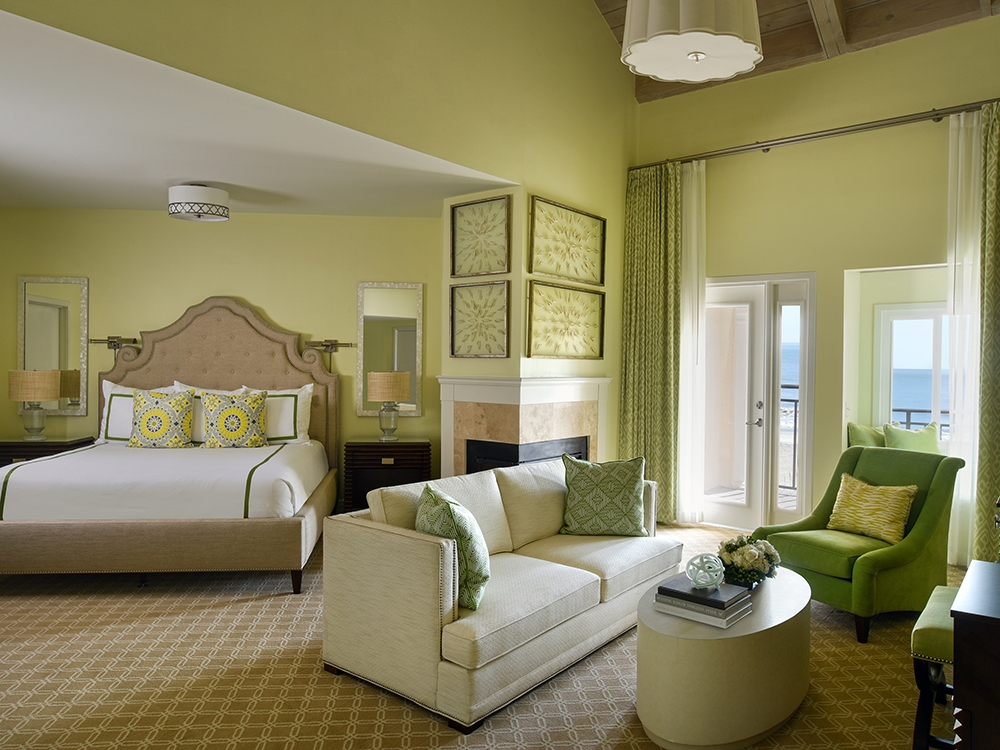 Hirsch-Bedner designs for the Ponte Vedra Inn and Club in Jacksonville, Florida