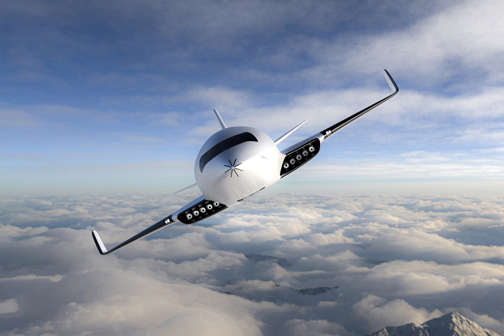 Eather One Electric Aircraft designed