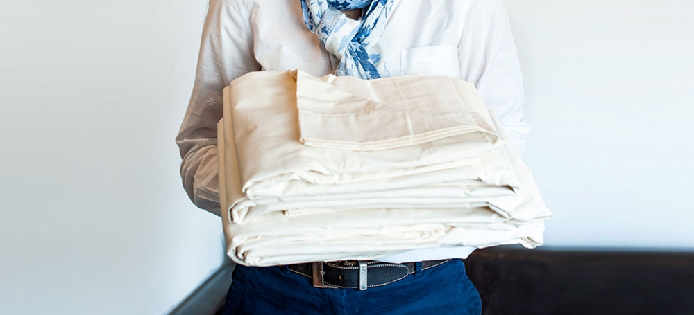 Classic American Made Organic Cotton Sheets, a perfect gift for mother's day