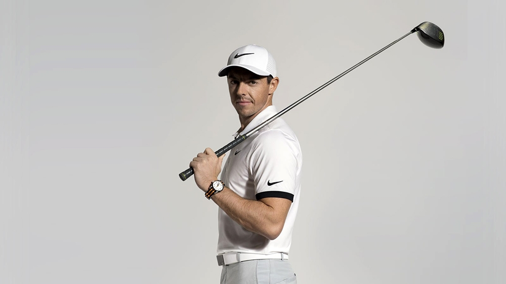 Rory McIlroy and Omega. Photo courtesy of Omega Watches