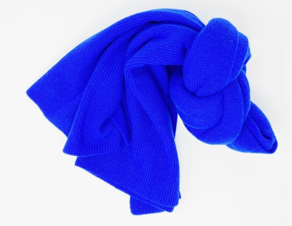 Hank Perfect Cashmere Concord Ribbed Scarf, perfect as a Mother's Day gift