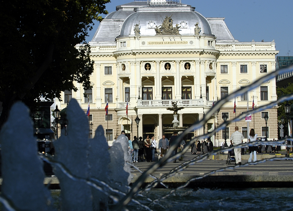 Slovak National Theater - Historical Building