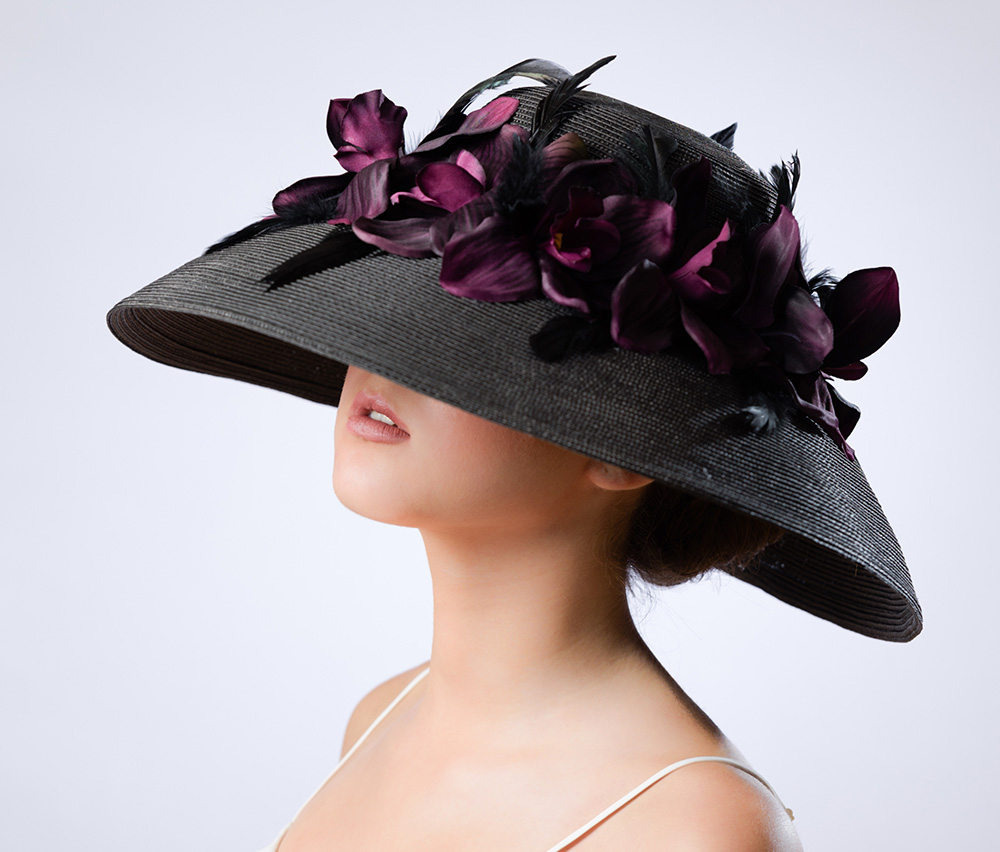Ashley Clark, Soigné The Empress hat collection, a perfect Mother's Day gift