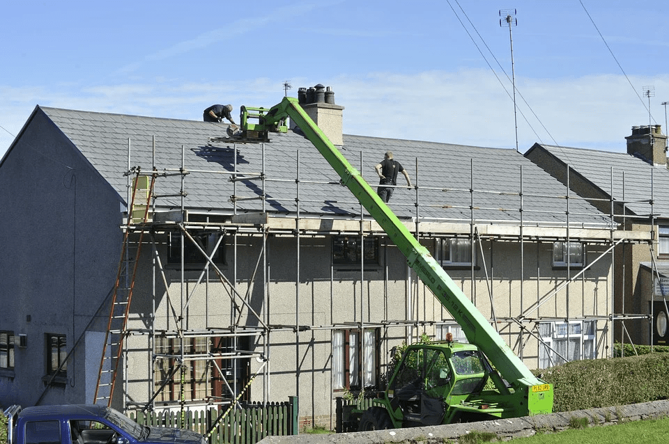 partial re-roofing, home improvement