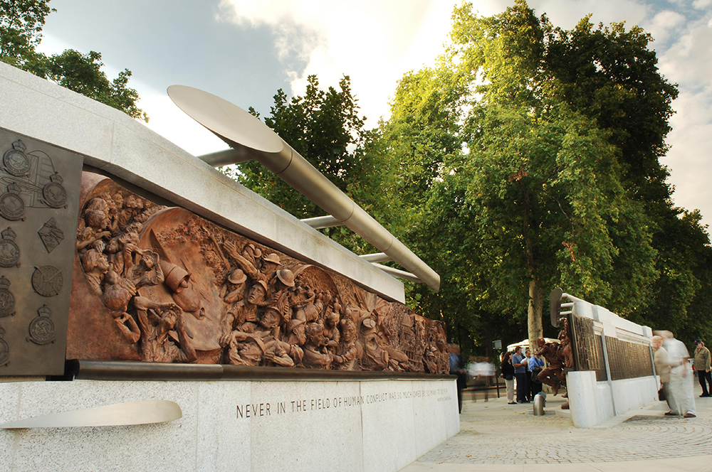 Battle of Britain Monument by Paul Day, British Sculptor