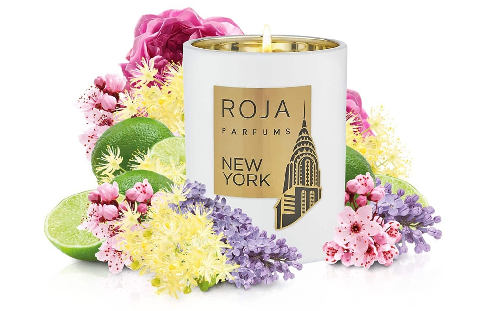 New York Roja scented candle