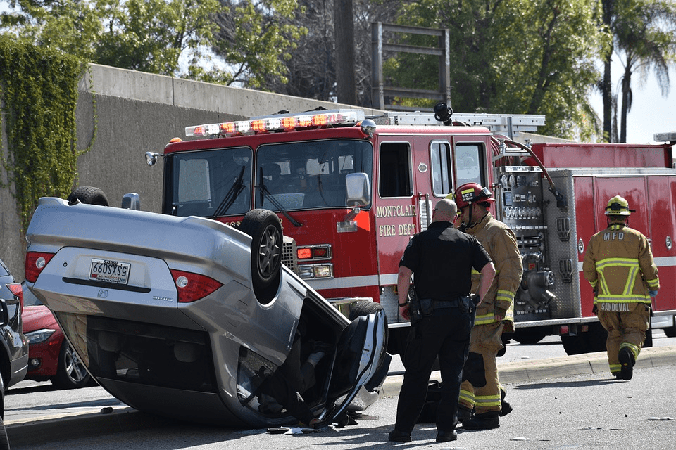 Reckless driving causing an accident