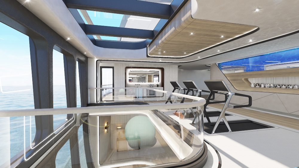 """314-Foot Expedition """"Rimor X"""" Yacht"""