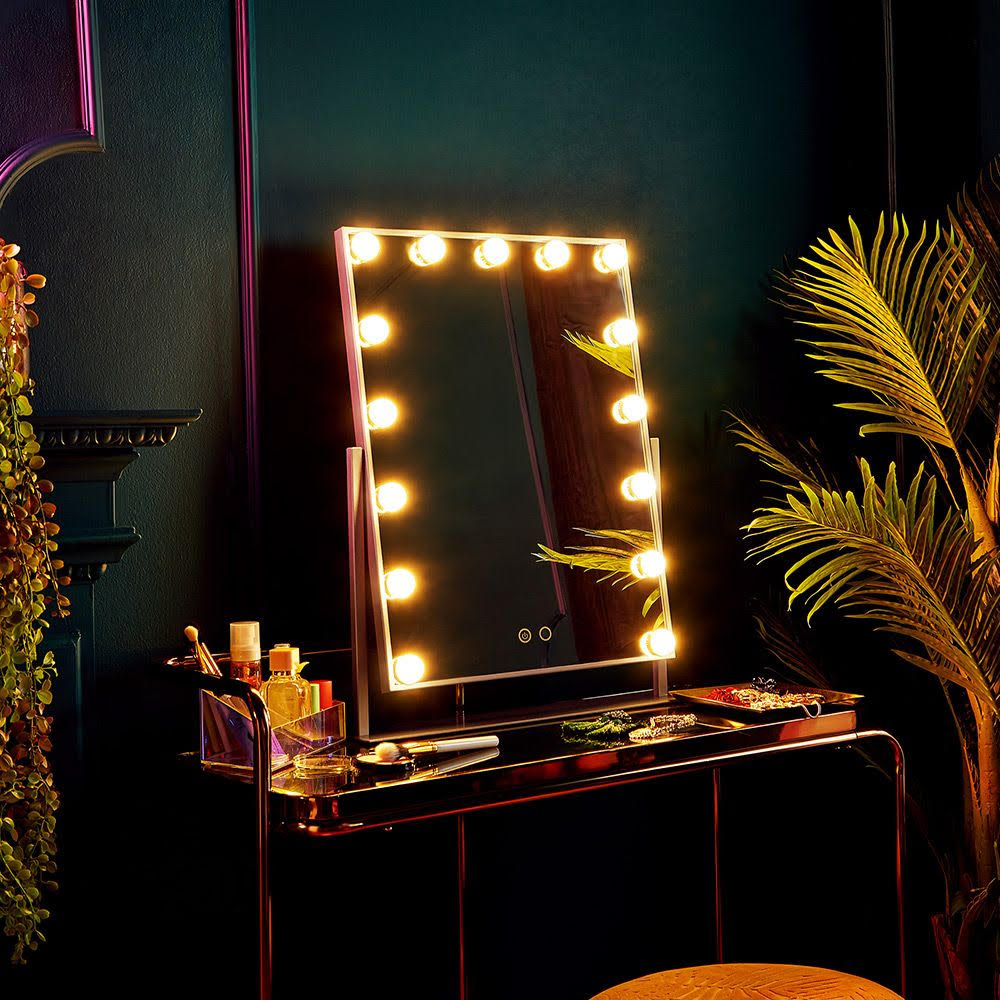 Champagne Hollywood Mirror by Beautify