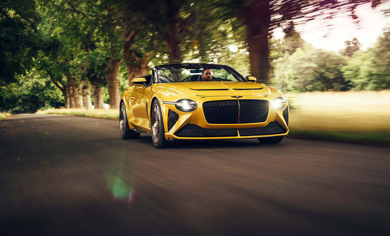 Bentley Bacalar, part of the Bentley MUlliner collection at Salon Prive in 2020