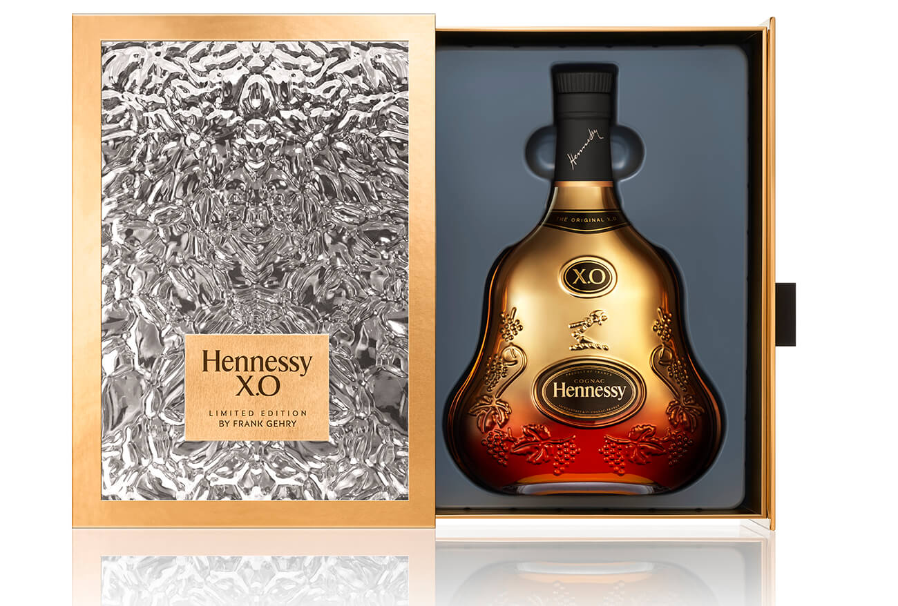 Frank Gehry Limited edition Hennessy X.O