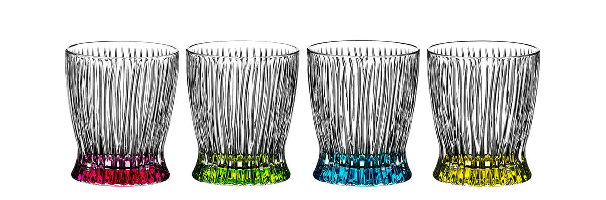 Riedel Fire & Water cocktail glasses
