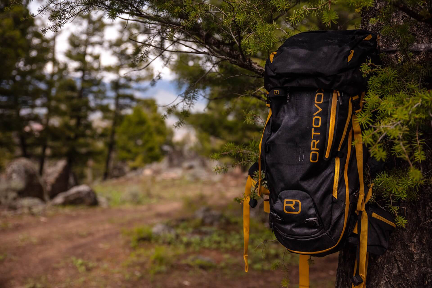 backpack item for glamping trip