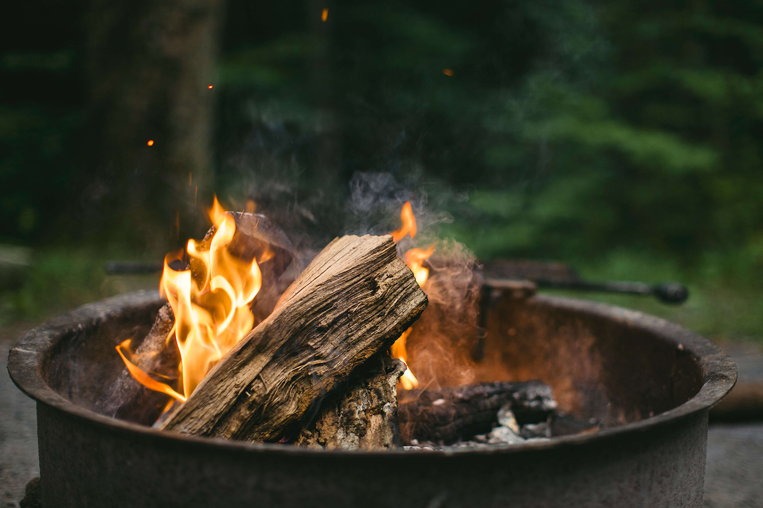 fire starters for glamping trip
