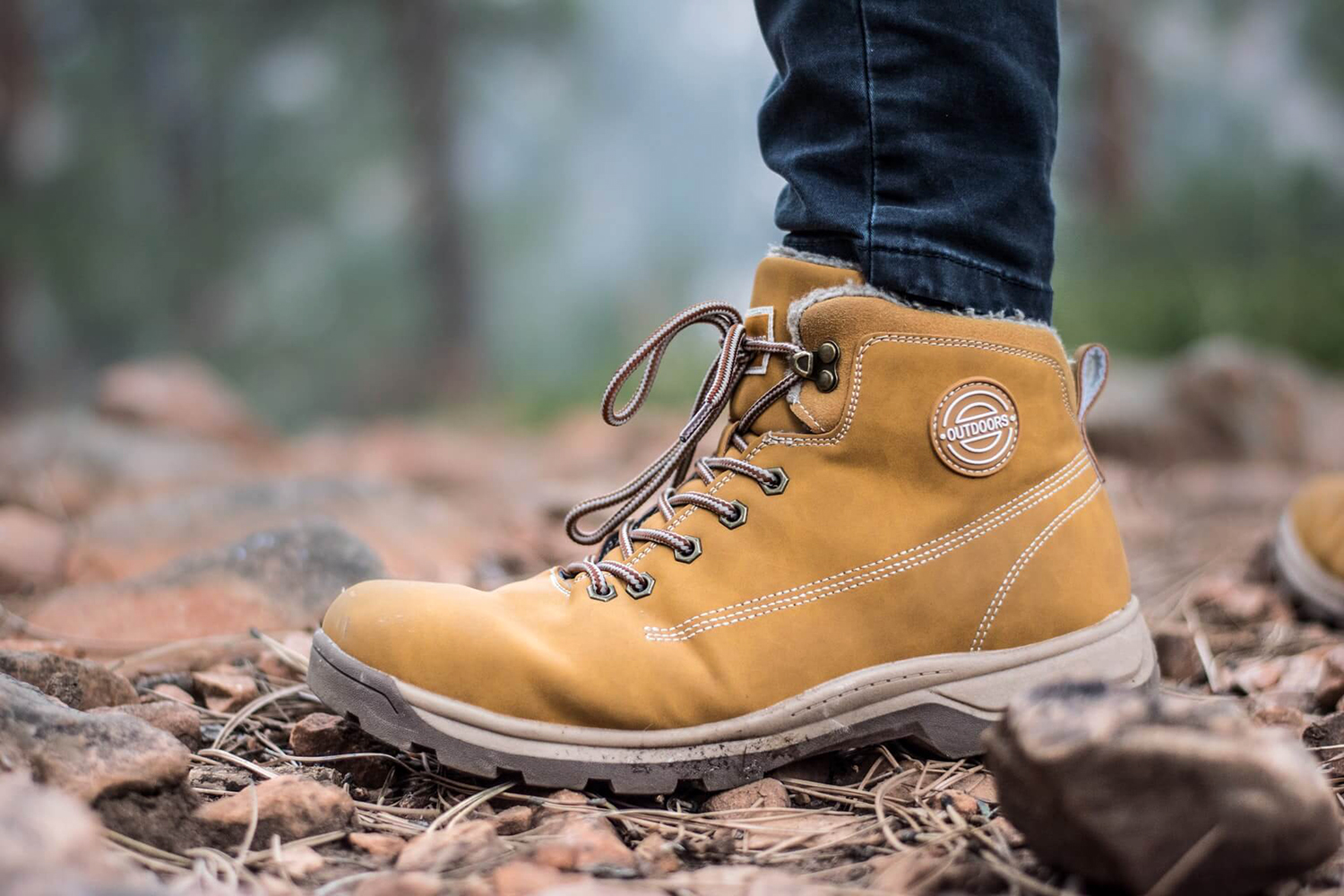 hiking shoes for glamping
