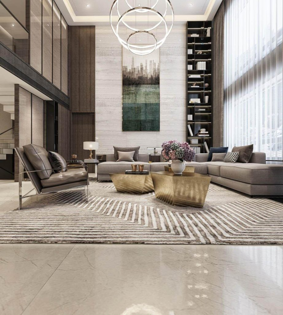 amplifying the flooring, Making Your Interior Design Unique and Luxurious