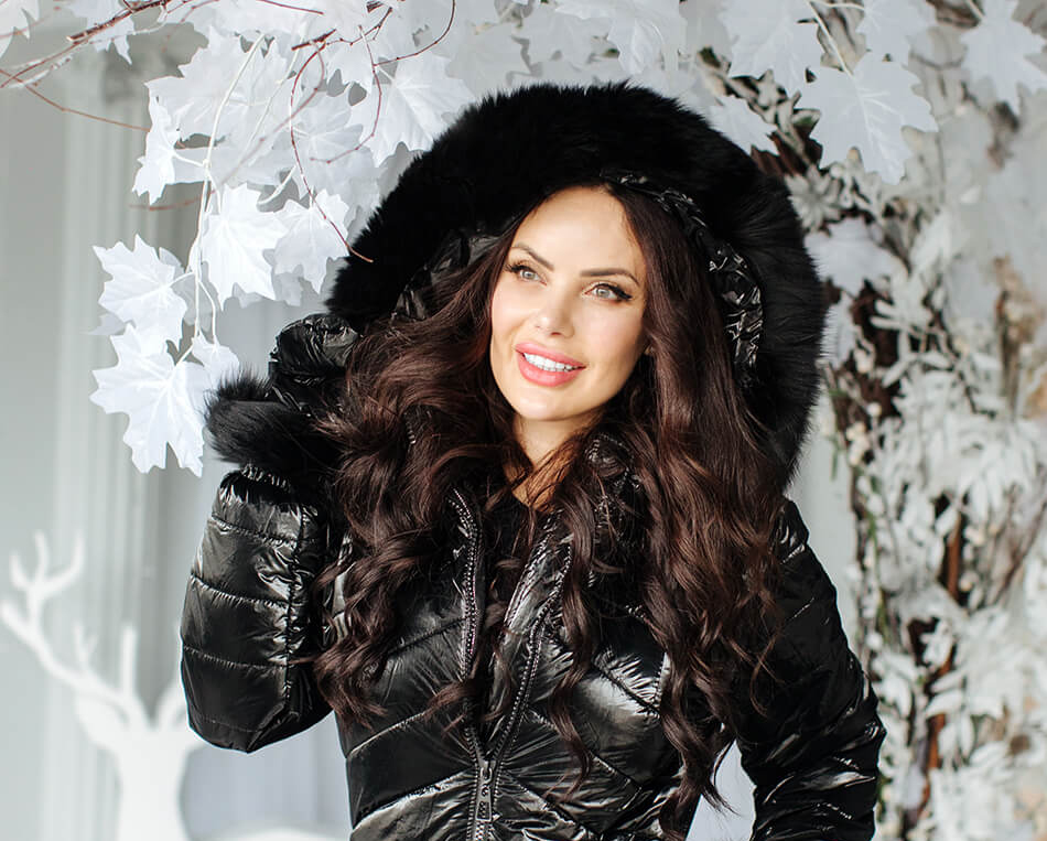 reflective snowsuit by Natalia Style