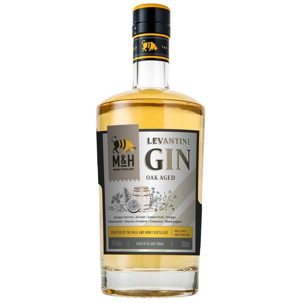 Milk and Honey Distillery Aged Gin from Israel