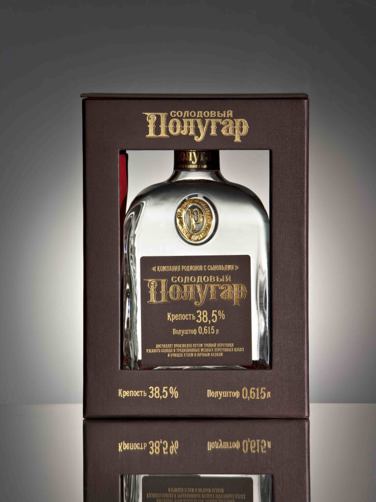 Polugar Vodka, An Example of the Old Style of Vodka Making