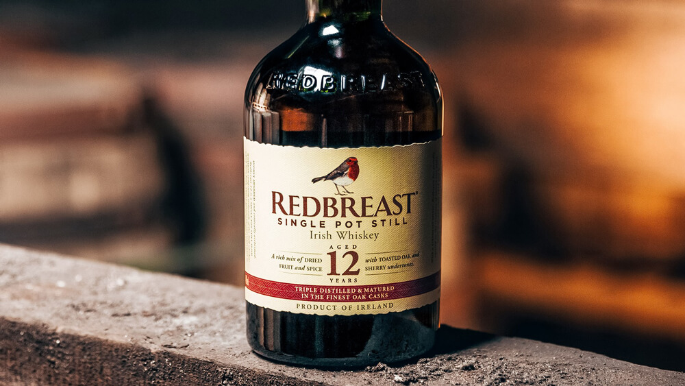 RedBreast 12 irish whiskey perfect for making a hot toddy