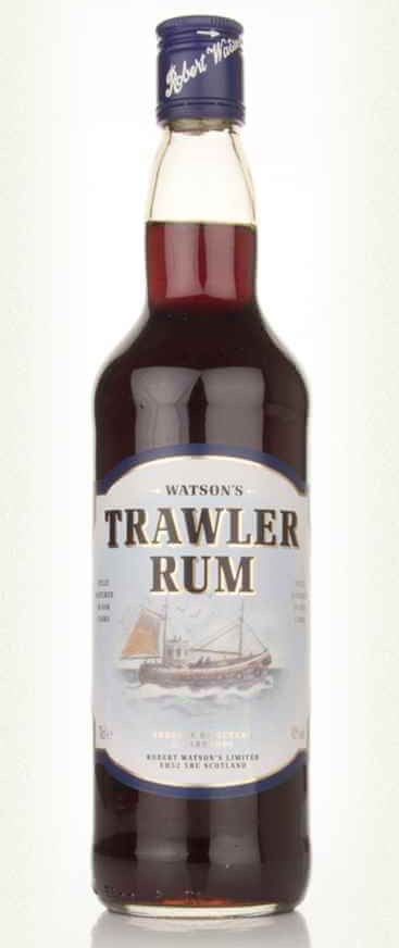 Watsons Trawler Rum perfect for making a hot toddy