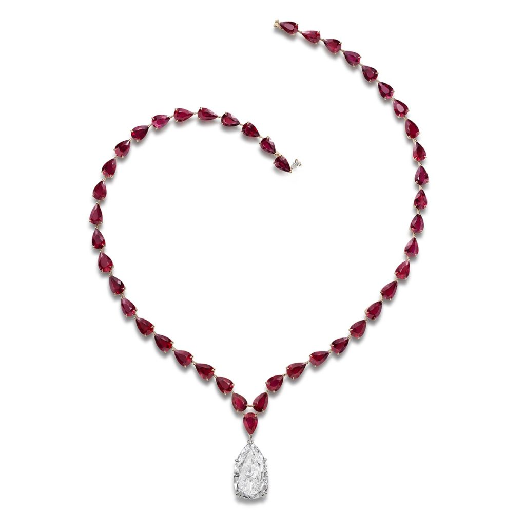 Red Carpet Collection Ruby ecklace by Chopard
