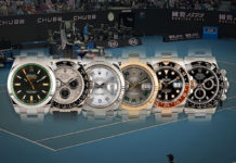 Rolex Watches and the tennis players who wear them