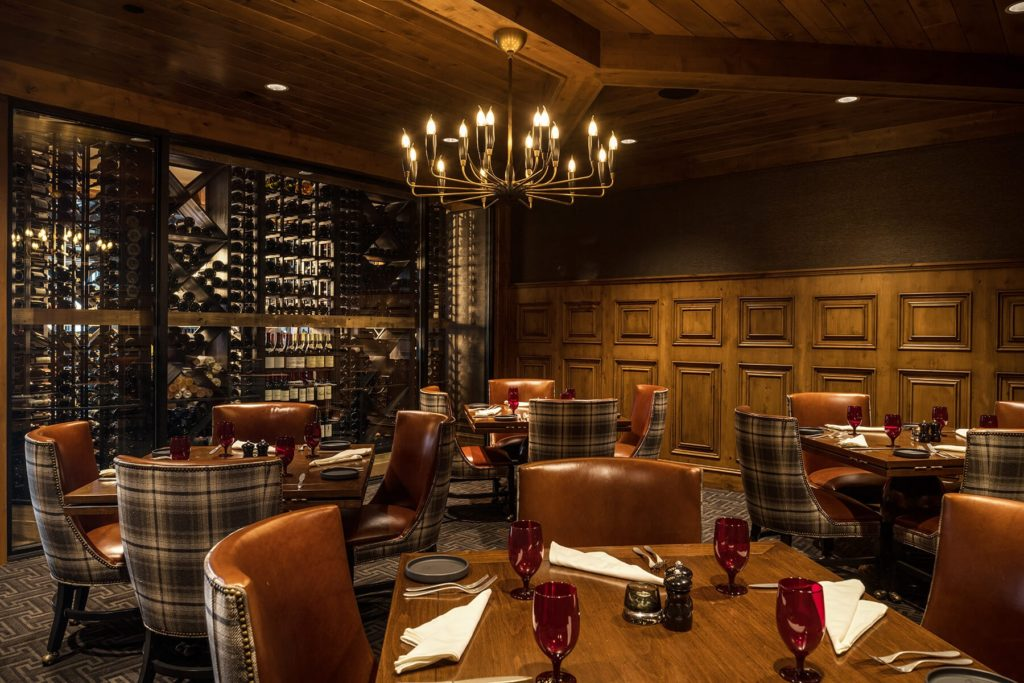 The Narrows Steakhouse private room