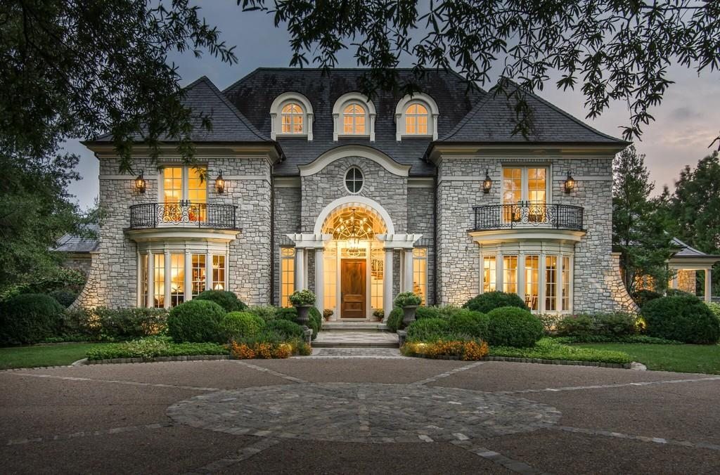 5021 Hill Place Dr Nashville TN 37205 most expensive home