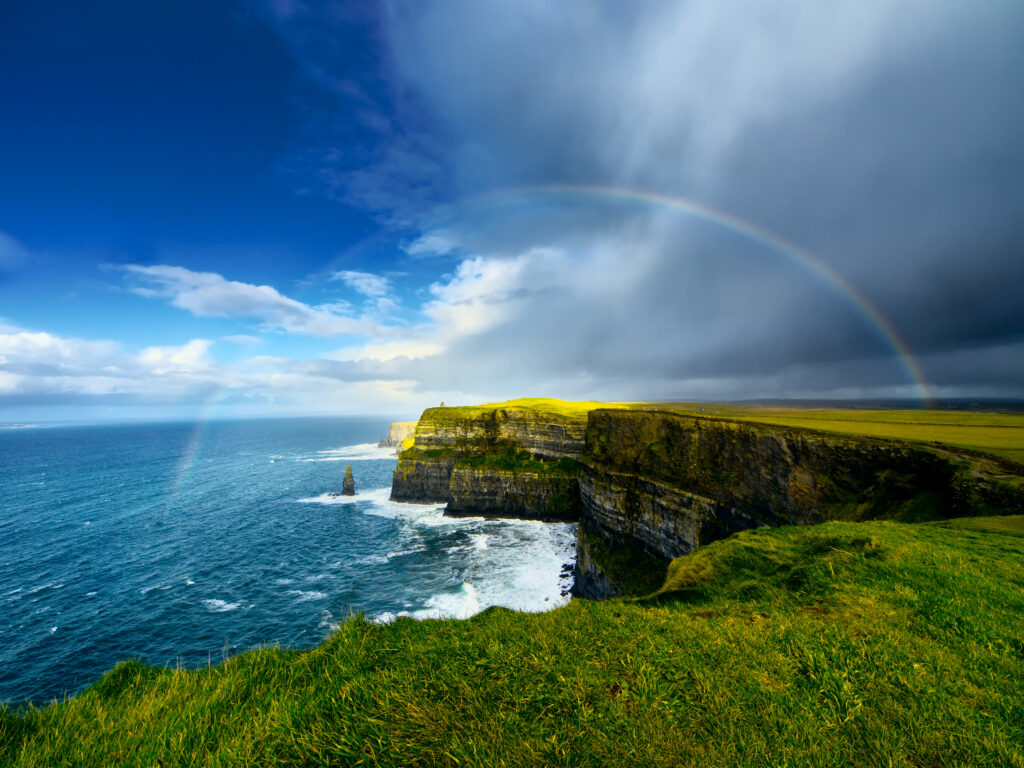 Cliffs of Moher. Ireland vacation