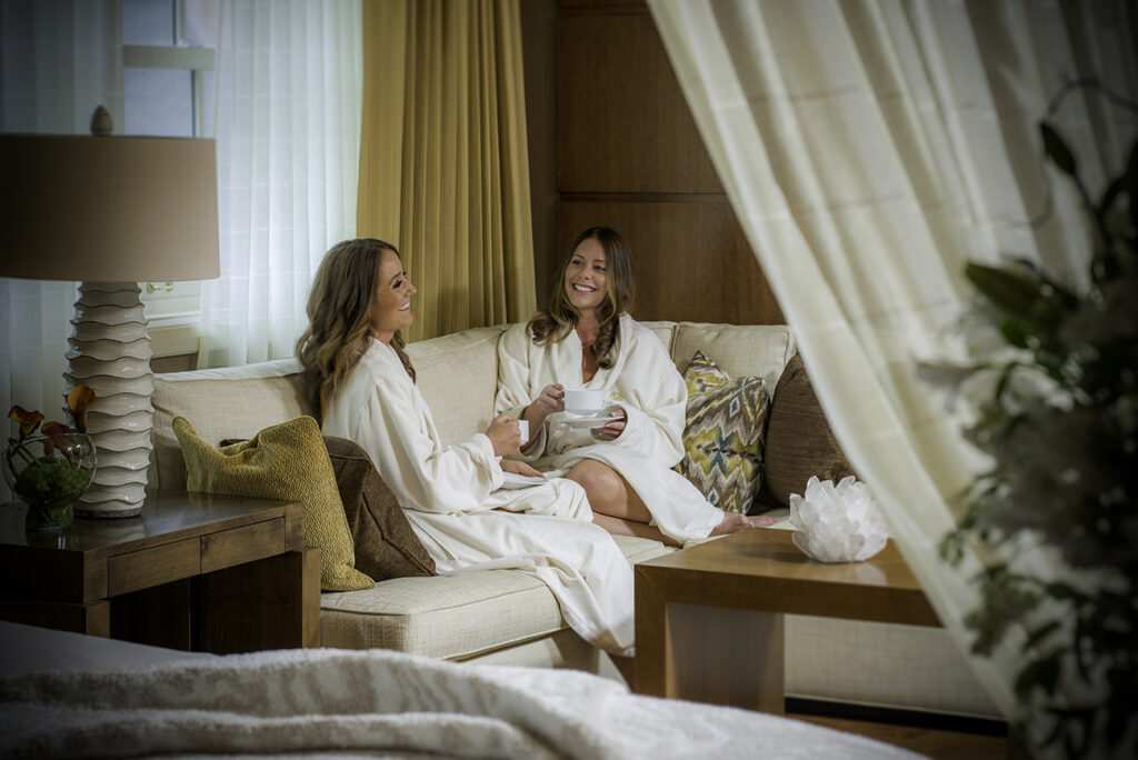 The Spa at Sun Valley Lodge offers 20,000 square feet of rest and relaxation