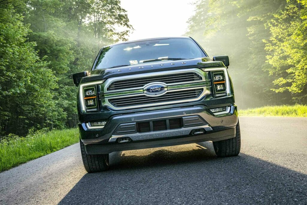 2021 Ford F150 Limited pickup truck