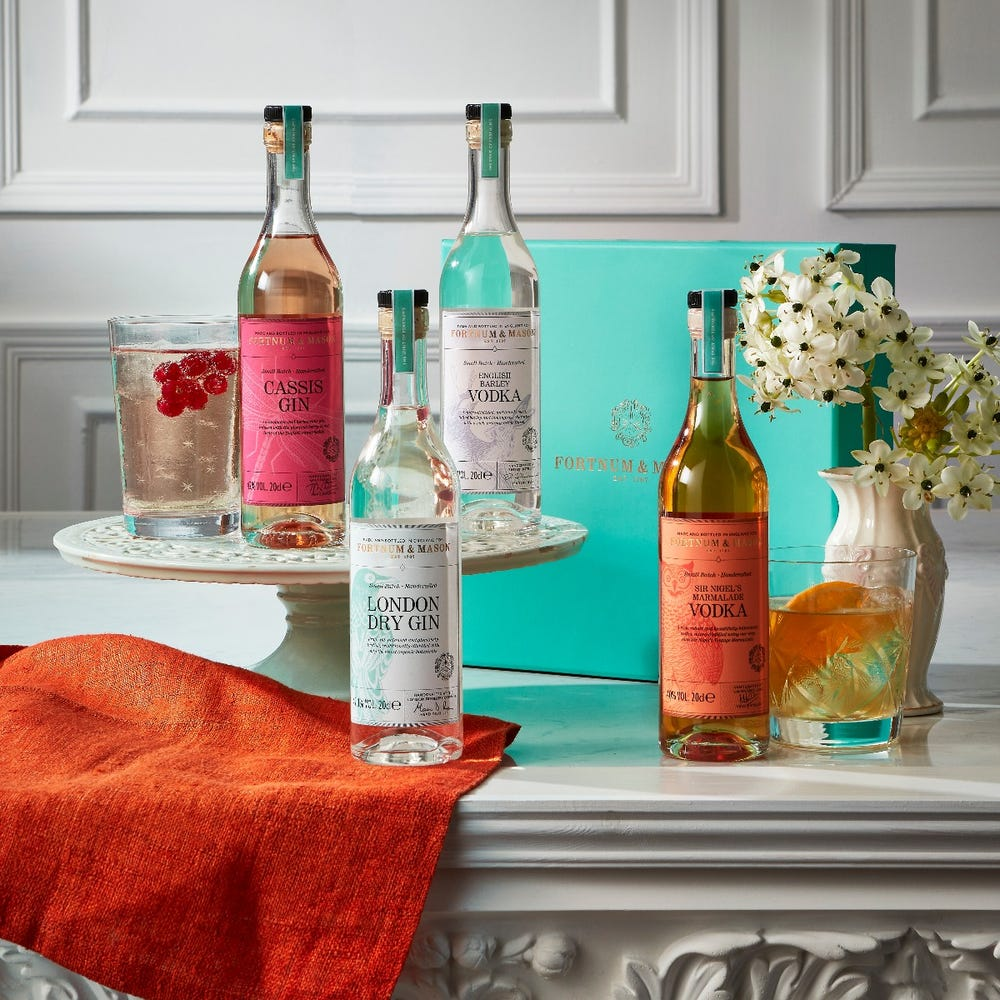 Fortnum'sThe English Spirits Quartet as a Mother's Day Gift