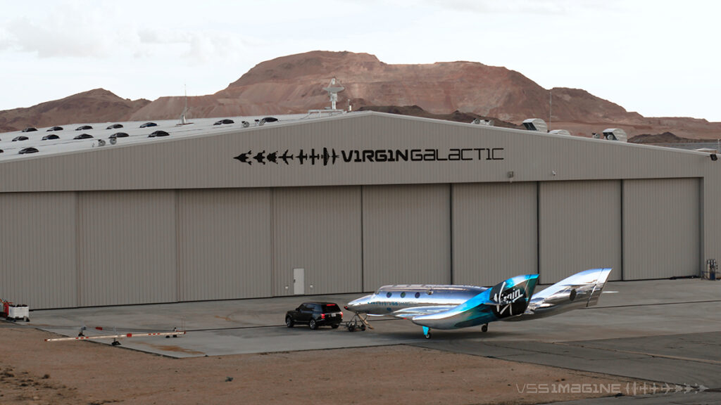 Introducing VSS Imagine, the first SpaceShip III in the Virgin G