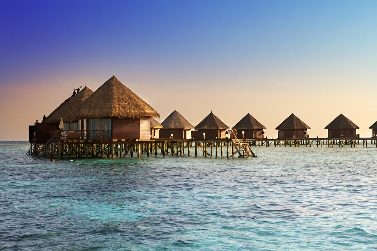 Relax in Overwater Accommodation in the Maldives