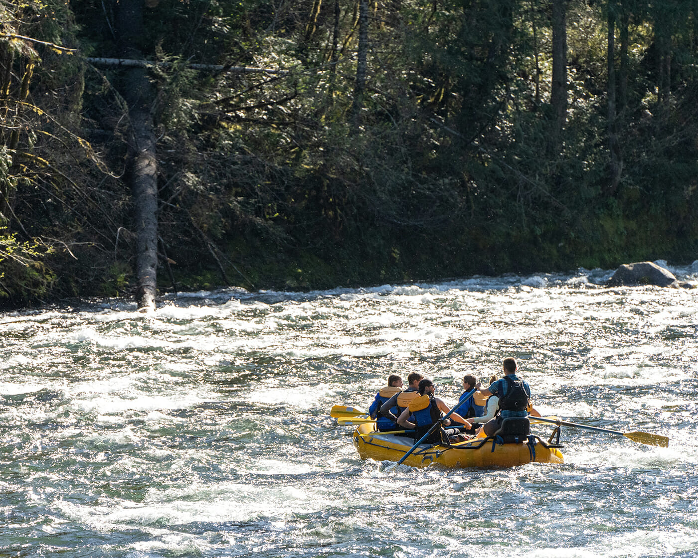 Rafting with First Nature Tours
