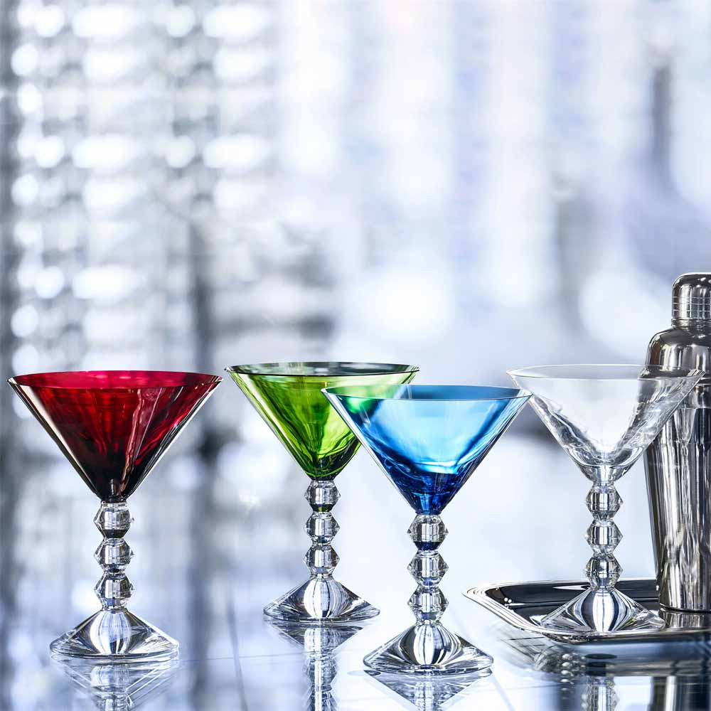 baccarat vega martini glasses as a Mother's Day Gift