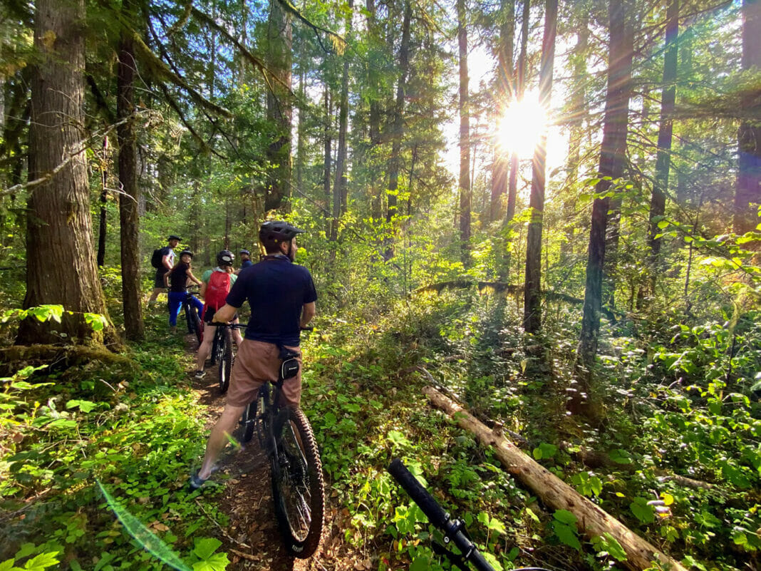 bike tours with First Nature Tours