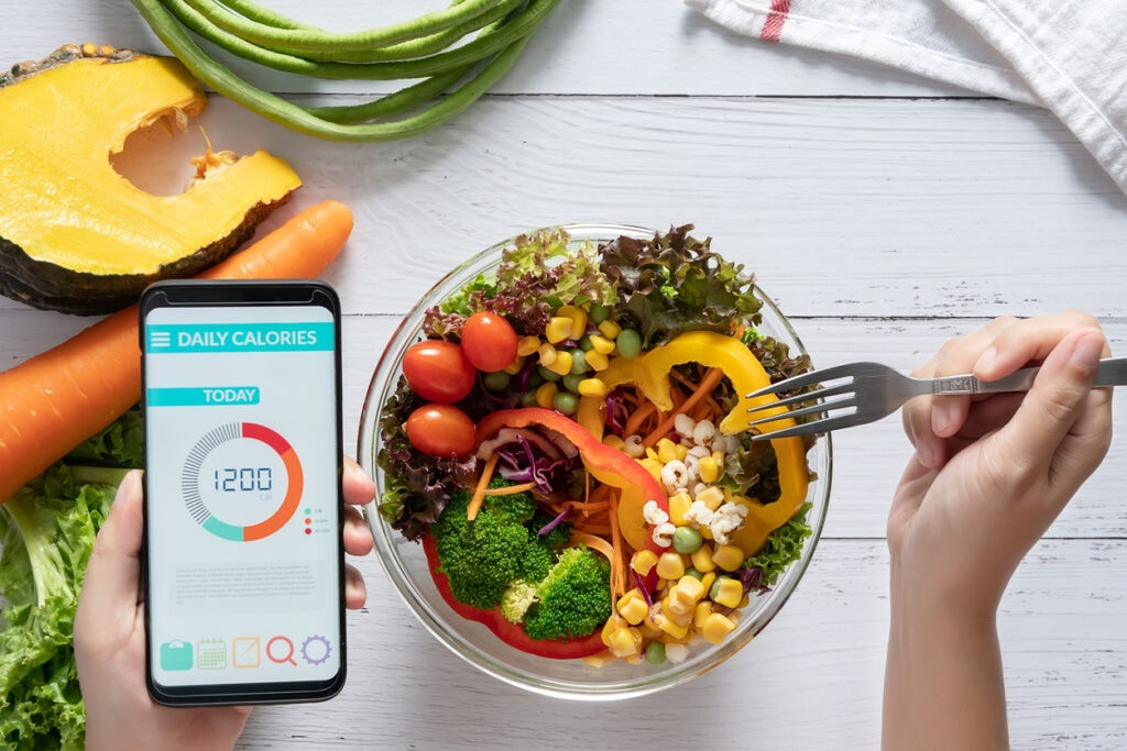 lose weight with healthy eating and calories counting